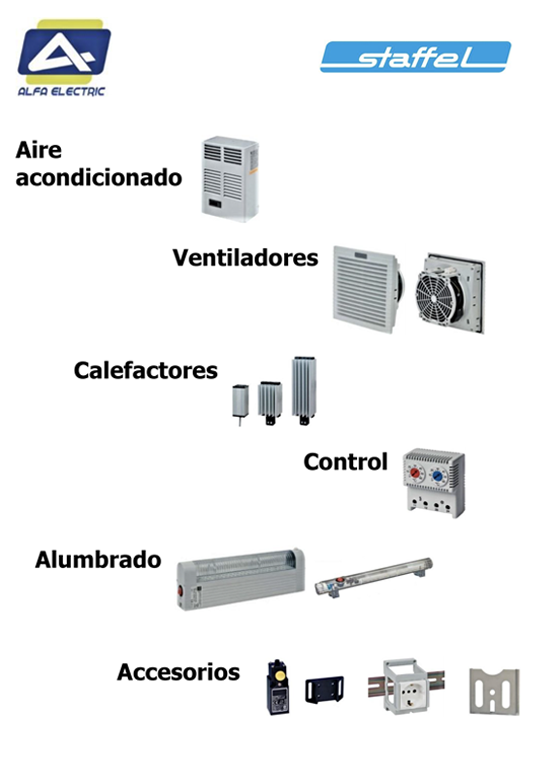 Ventilación Alfa Electric