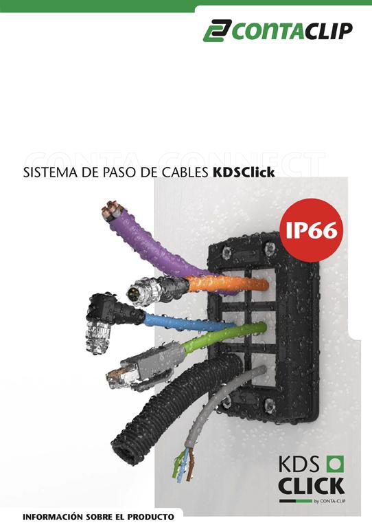 Sistema de paso de cables KDSClick